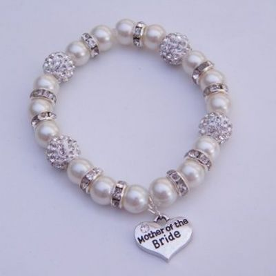 Mother Of The Bride Bracelet - Glitzy Style